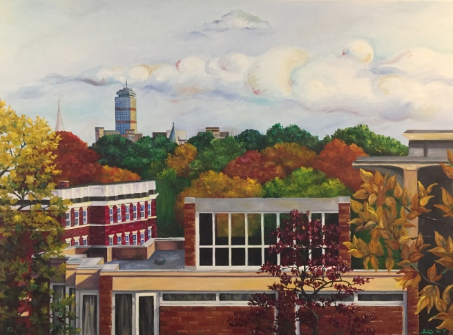 view from an ivory tower_oil on canvas_Sunny X. Tang_ MD.jpg